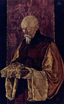 Portrait of Prof. Nicholas Roerich