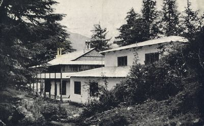 General view of the Headquarters and Medical Research Laboratories at Naggar, Kulu, Punjab, India